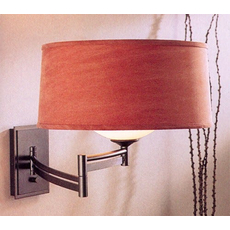 Clearance Hubbardton Forge Bowed Left Swing Arm Large Wall Sconce on Clearance