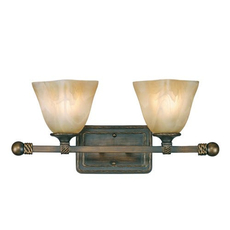 Clearance Golden Lighting Meridian 2-Light Vanity