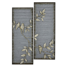 Cooper Classics Spring Birds Wall Art Set of 2
