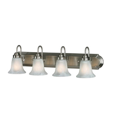 Clearance Golden Lighting Brookfield 4-Light Vanity