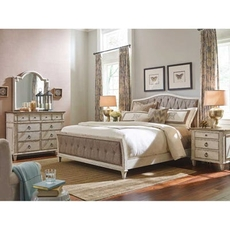 American Drew Southbury Cal King Sleigh Bedroom Set with Dresser