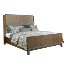 American Drew Modern Synergy Chevron Cal King Panel Bed