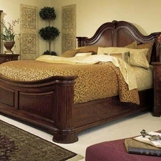 American Drew Cherry Grove 45th Anniversary Mansion Queen Bed