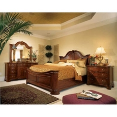 American Drew Cherry Grove 45th Anniversary King Mansion Bedroom Set