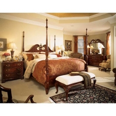 American Drew Cherry Grove 45th Anniversary Queen Poster Bedroom Set