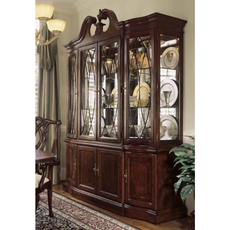 American Drew Cherry Grove 45th Anniversary Breakfront China Cabinet OVFCR121705