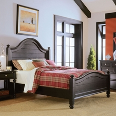 American Drew Camden Dark Panel Bed