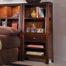 American Drew Tribecca Bookcase Nightstand Set of 2