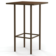 Amisco Aden Wood Top Counter Height Dining Table