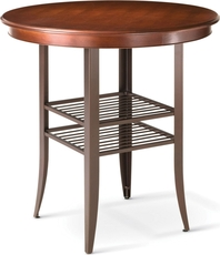 Amisco Andy Round or Square Bar Height Table
