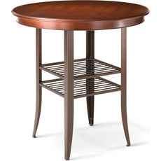 Amisco Andy Round or Square Counter Height Table