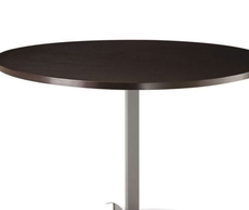 Amisco Billy Round or Square Wood Top Dining Table
