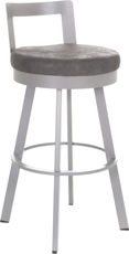 Amisco Blake 26 Inch Swivel Counter Stool