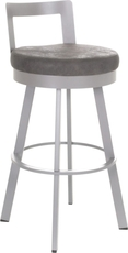 Amisco Blake 30 Inch Swivel Bar Stool