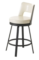 Amisco Brock 30 Inch Swivel Bar Stool