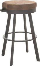 Amisco Bryce 26 Inch Swivel Counter Stool