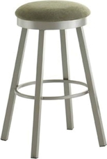 Amisco Connor 26 Inch Swivel Counter Stool