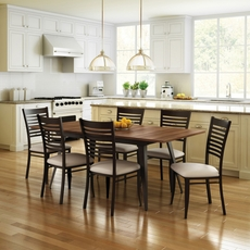 Amisco Edwin 7 Piece Dining Set