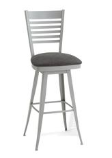 Amisco Edwin 34 Inch Swivel Bar Stool