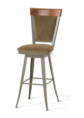 Amisco Eleanor 30 Inch Swivel Bar Stool