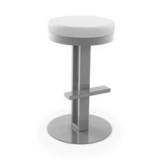 Amisco Glint 26 Inch Swivel Counter Stool