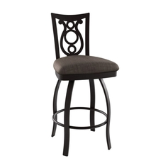 Amisco Harp 26 Inch Swivel Stool