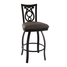 Amisco Harp 30 Inch Swivel Stool