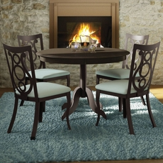 Amisco Harp 5 Piece Dining Set