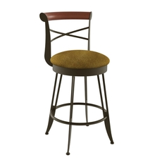 Amisco Historian 26 Inch Swivel Stool