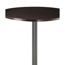 Amisco Judy Round or Square Wood Top Counter Height Table