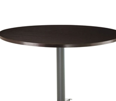 Amisco Judy Round or Square Wood Top Dining Table