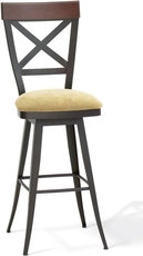 Amisco Kyle 34 Inch Swivel Bar Stool