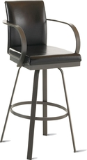 Amisco Lance 30 Inch Swivel Bar Stool