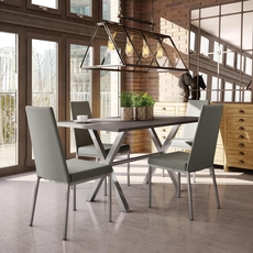 Amisco Linea 5 Piece Dining Set