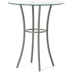 Amisco Lotus Round or Square Counter Height Table