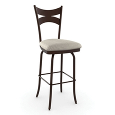 Amisco Meadow 30 Inch Swivel Stool