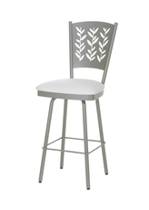 Amisco Mimosa 26 Inch Swivel Counter Stool