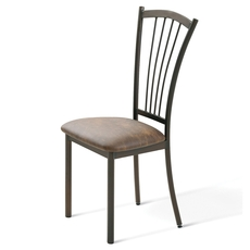 Amisco Naomi Dining Side Chair Set of 2