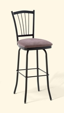 Amisco Naomi 34 Inch Swivel Bar Stool