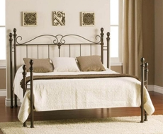 Amisco Natasha Headboard with Open Footboard