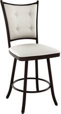 Amisco Paula 34 Inch Swivel Bar Stool