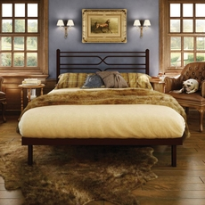 Amisco Timeless Full Platform Footboard Bed