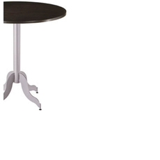 Amisco Tina Round or Square Wood Top Bar Height Table