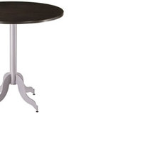 Amisco Tina Round or Square Wood Top Counter Height Table