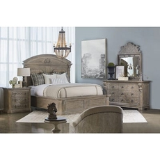 A.R.T. Furniture Arch Salvage Chambers Eastern Panel King Bedroom Set