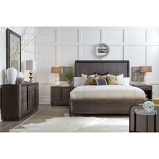 A.R.T. Furniture Geode Celestite Panel King Bedroom Set