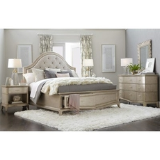 A.R.T. Furniture Starlite Upholstered Panel Storage Queen Bedroom Set