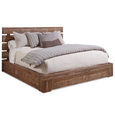 A.R.T. Furniture Epicenters King Williamsburg Platform Storage Bed