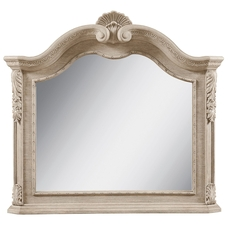 A.R.T. Furniture Renaissance Landscape Mirror with White Finish