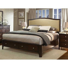 Clearance Aspen Home Lincoln Park California King Panel Storage Bed